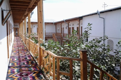 Citizen of France opens guest house in Bukhara