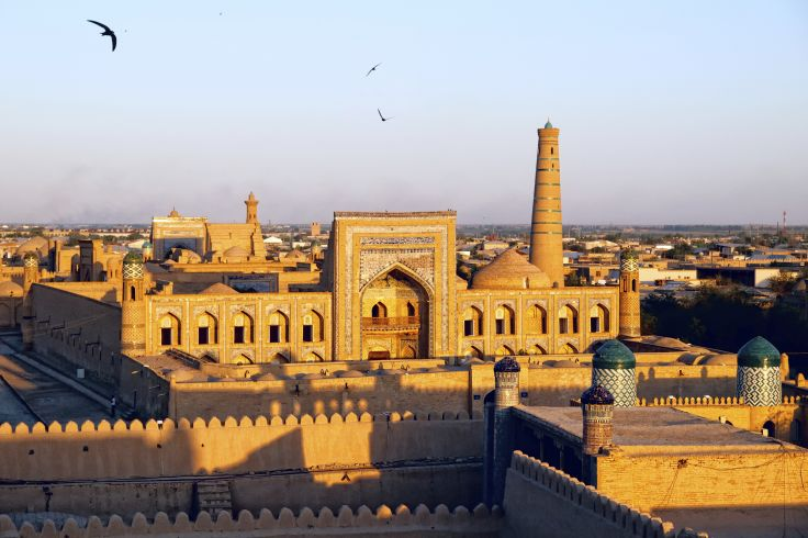 Euronews shows programme about Khiva