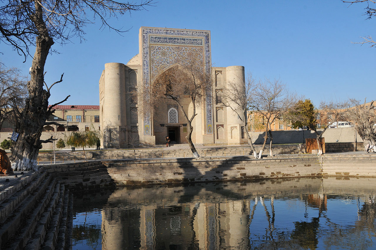 Bukhara's charming Ensemble known as Lyabi-Khauz