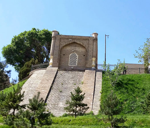 Mausoleum of St. Daniel in Samarkand