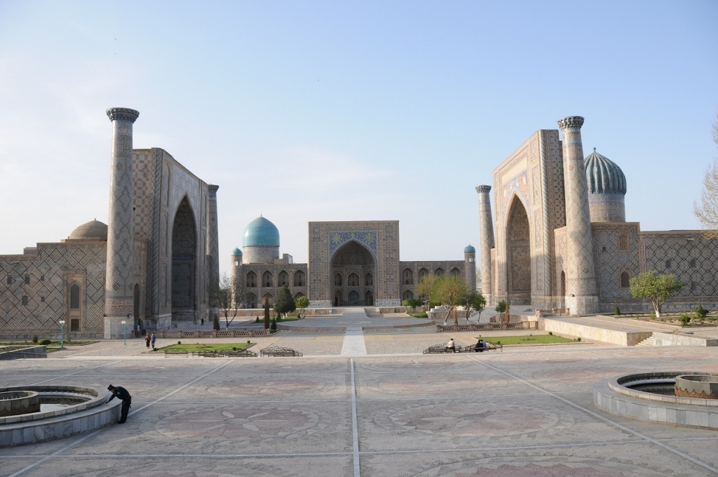 BBC publishes article on Samarkand
