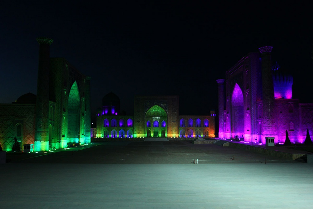 Uzbekistan unveils music and light show inspired by historical facts