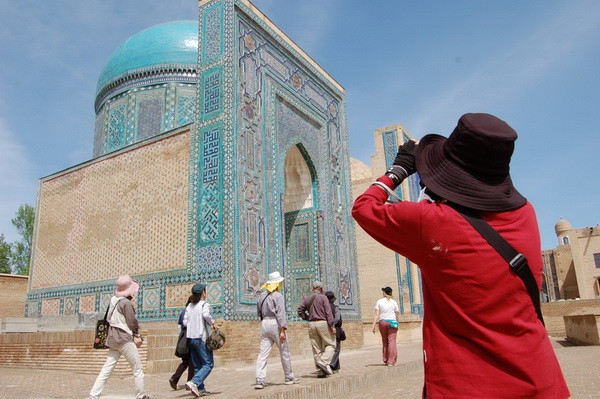 Russian tourists starts to actively pave the route towards the Central Asian part of the Silk Road