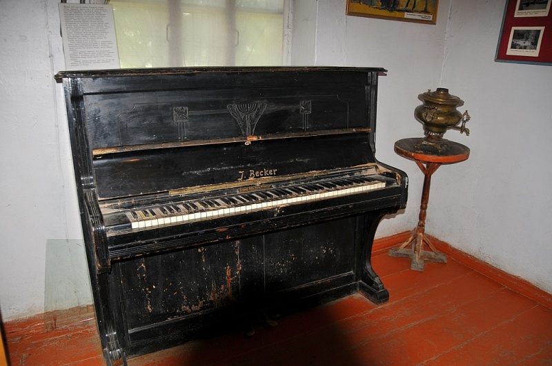 First piano of Pamir!
