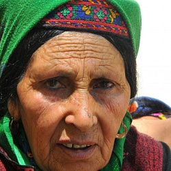 an old woman married from Afghanistan across!!!