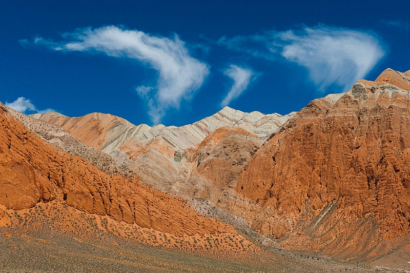 Issyk-Kul Lake mountains