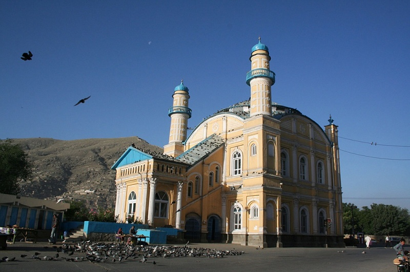Do Shamshira Mosque, Kabul